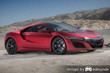 Insurance rates Acura NSX in Cleveland