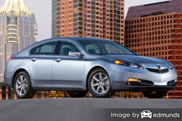 Insurance quote for Acura TL in Cleveland