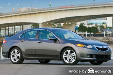 Insurance rates Acura TSX in Cleveland