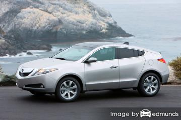 Insurance quote for Acura ZDX in Cleveland