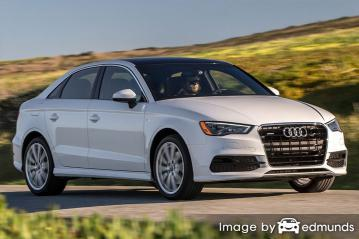 Insurance rates Audi A3 in Cleveland