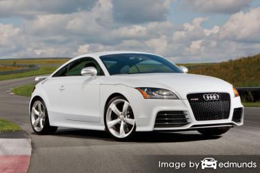 Insurance quote for Audi TT RS in Cleveland