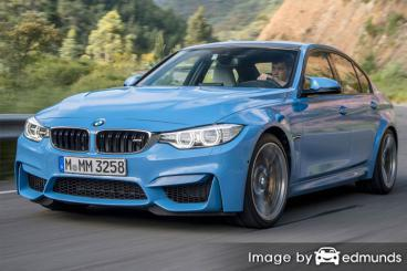 Insurance rates BMW M3 in Cleveland