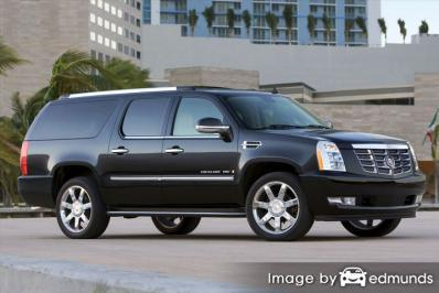 Insurance rates Cadillac Escalade ESV in Cleveland