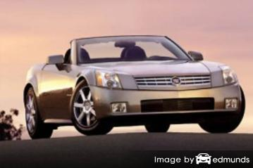 Insurance rates Cadillac XLR in Cleveland