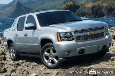 Insurance for Chevy Avalanche