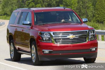 Insurance quote for Chevy Suburban in Cleveland