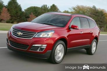 Insurance rates Chevy Traverse in Cleveland