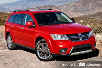 Insurance rates Dodge Journey in Cleveland