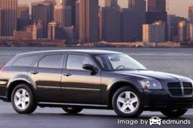 Insurance rates Dodge Magnum in Cleveland