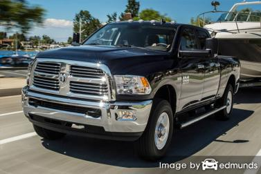 Insurance rates Dodge Ram 3500 in Cleveland