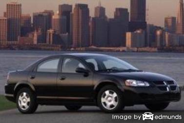 Insurance quote for Dodge Stratus in Cleveland