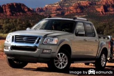 Insurance quote for Ford Explorer Sport Trac in Cleveland
