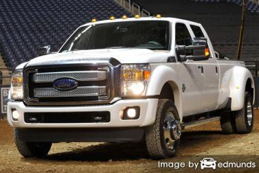 Insurance quote for Ford F-350 in Cleveland