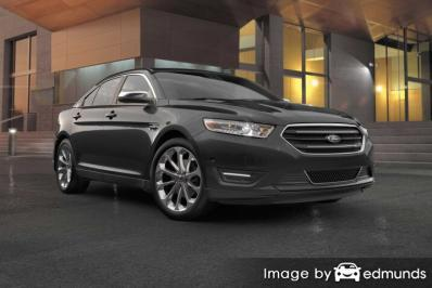 Insurance rates Ford Taurus in Cleveland