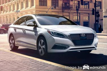 Insurance quote for Hyundai Sonata Hybrid in Cleveland