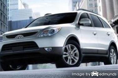 Insurance quote for Hyundai Veracruz in Cleveland