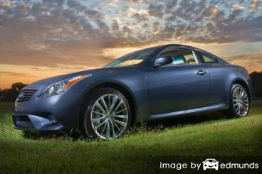 Insurance quote for Infiniti G35 in Cleveland