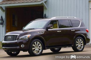 Insurance quote for Infiniti QX56 in Cleveland