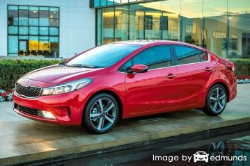 Insurance rates Kia Forte in Cleveland