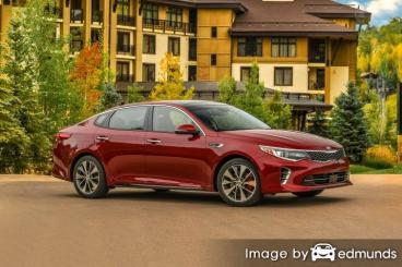 Insurance quote for Kia Optima in Cleveland
