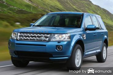 Insurance rates Land Rover LR2 in Cleveland