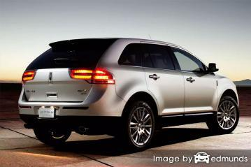 Insurance rates Lincoln MKX in Cleveland