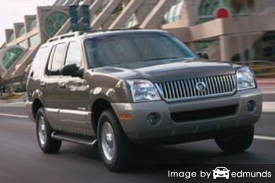 Insurance quote for Mercury Mountaineer in Cleveland