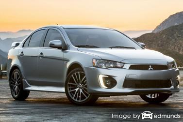 Insurance quote for Mitsubishi Lancer in Cleveland