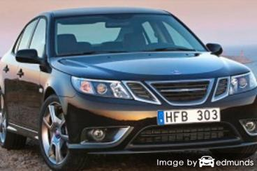 Insurance rates Saab 9-3 in Cleveland