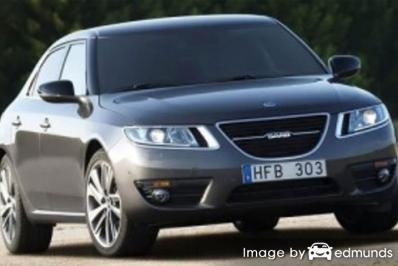 Insurance quote for Saab 9-5 in Cleveland