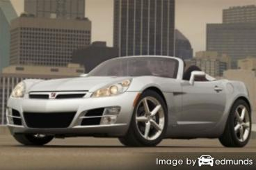 Insurance quote for Saturn Sky in Cleveland