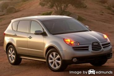 Insurance quote for Subaru B9 Tribeca in Cleveland