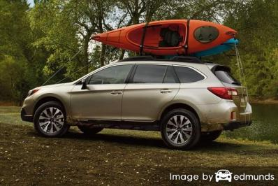Insurance rates Subaru Outback in Cleveland