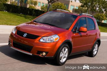 Insurance quote for Suzuki SX4 in Cleveland