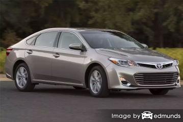 Discount Toyota Avalon insurance