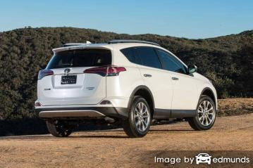 Insurance rates Toyota Rav4 in Cleveland