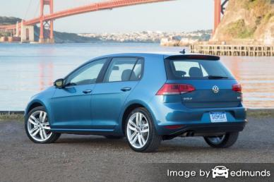 Discount Volkswagen Golf insurance